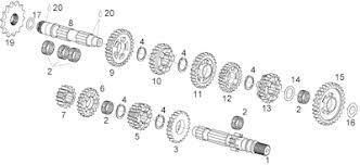 ia rs 125 engine parts bottom end