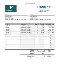 Invoice For Sale Invoice For Sale Ninjaturtletechrepairsco 11