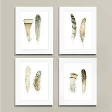 Ballard Designs Horse Art Suzanne Kasler Feathers Art Framed Prints Art Feather