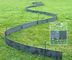 metal garden edging lattice border fence