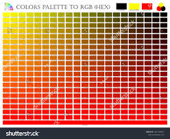 Black Color Mixing Chart Color Palette Mixer 3 Color Black Stock Vector Royalty Free