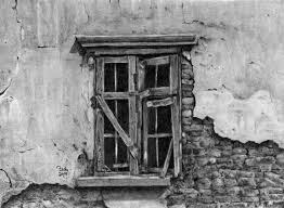 window pencil drawing. old window by graywolfcg pencil drawing e