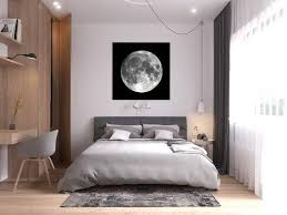 moon print moon poster bedroom wall art