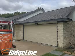almond garage door17x7 Amarr Stratford 1000 Short Panel Almond  RidgeLine