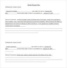 Certificate To Return To School Or Work Template Sample
