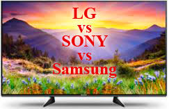 Sony Tv Compare Chart 55 Inches Tv Lg Samsung Sony Region Us Canada 2018