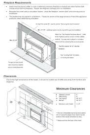 gas fireplace insert dimensions gas fireplace insert dimensions a installation a owners manual standard gas fireplace