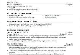 New Nurse Resume Sample Of Resume New Grad Nursing Resume Nurse ...