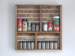 Kitchen Spice Rack Custom Spice Rack Etsy