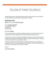 Job Interview Follow Up Email Job Interview Follow Up Email Template Inspirational Resume Ema