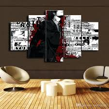 anime canvas print painting modern wall art for decor home decoration artwork from ideas