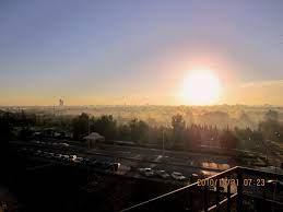 الشمس وقت الشروق مشهد رائع 31/10/2010 By FO