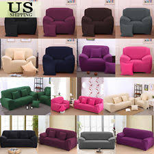 sofa covers. Stretch Chair Cover Sofa Covers 1 2 3 4 Seater Protector Couch Slipcover
