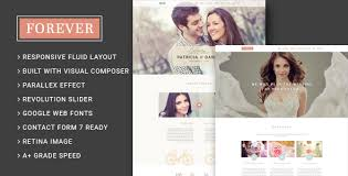 Wedding Wordpress Theme Forever Wedding Couple Wedding Planner Agency Wordpress Theme