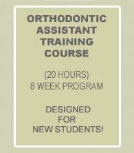 Courses Outline Greater Hartford Orthodontic Assistant