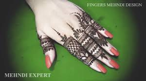 Beautiful Henna Designs For Fingers Simple And Beautiful Mehndi Or Henna Designs For Fingers Step By Step Tutorial