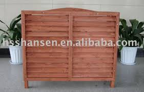 Lattice Air Conditioner Screen Wooden Air Conditioning Covers Ac Air Conditioner Gallery By