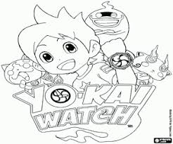 On this page, you will find the list of passwords / passcodes and plenty of qr codes for the game. Yo Kai Watch Logo And Characters Coloring Page Printable Game