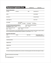 free generic job application generic application for employment pdf writings and essays corner