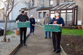 Elgin City initiative sees 130 Christmas meals delivered to sheltered  housing