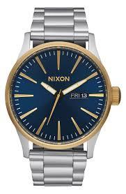 nixon watches nordstrom nixon sentry bracelet watch 42mm