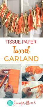 diy tissue paper tassel garland the magic brush how to make tassel fringe