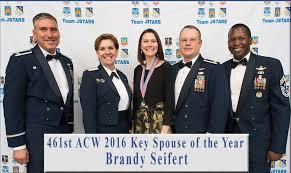 461st ACW 2016 Key Spouse of the Year Brandy Seifert