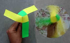How To Make A Rotating Paper Fan Origami Youtube