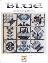 CM Designs Blue (Cross Stitch Quilt Blocks) - Cross Stitch Pattern ... & Blue (Cross Stitch Quilt Blocks) - Cross Stitch Pattern; Adamdwight.com