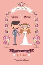 Cartoon Wedding Invitation Cards Designs Professional Wedding Invitation Cards Design Online For Your