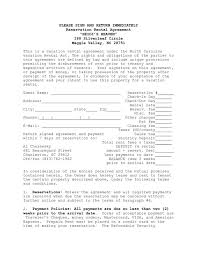 Apartment Lease Agreement Word Document Unique Residential Lease ...