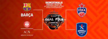 Euroleague final four 2021 ne zaman? Nerede yapılacak? Euroleague final  four eşleşmeleri - Memurlarimiz.com