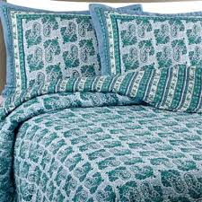 Buy Cotton Queen Quilts from Bed Bath & Beyond & Raya Cotton Voile Full/Queen Quilt Set in Aqua Adamdwight.com