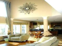 high ceiling decor decorating high walls decorating high walls high wall decorating ideas wall decor for