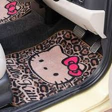 girly car floor mats. Fine Floor Cheetah Print Hello Kitty Car Mats  With Girly Car Floor Mats B
