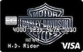 harley davidson secured credit card reviews