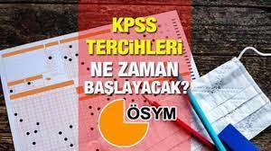 KPSS tercihleri ne zaman başlayacak? ÖSYM 2021/2 KPSS tercih tarihlerini  açıkladı mı? - GÜNCEL Haberleri