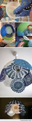 Beautiful Lamp Shades Paint Doilies Or