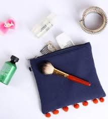 navy blue canvas small travel organiser