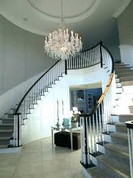 2 story foyer chandelier 018 height installation modern lighting