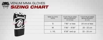 Mma Gloves Size Chart Gloves Sizes Fashion Dresses