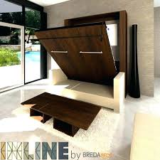 Furniture Diy Murphy Bed Over Couch Brilliant On Furniture Desk