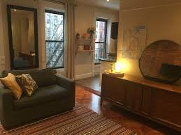 bedford stuyvesant townhome al living room into kitchen