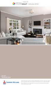 I found this color with ColorSnap Visualizer for iPhone by  Sherwin-Williams: Temperate