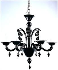 black contemporary chandeliers