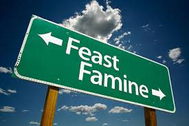 is famine feasting natural