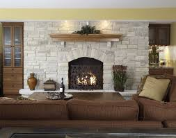 white stone fireplace elegance