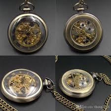 buy mechanical pocket watches for mens 17 crystals hand wind up mechanical pocket watches for mens 17 crystals hand wind up movement pocket watch chain casual