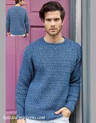 Men's Sweater Patterns Stunning Men's Jumper Knitting Pattern Free Free Knitting Patterns