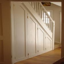 Making Cupboard Doors Cupboard Under The Stairs With Concertina Doors That Open Fully To